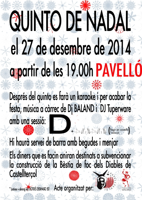CARTELL QUINTO